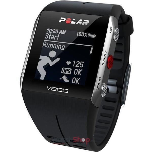 Ceas Polar TRAINING COMPUTER V800 BLACK 90060770 GPS
