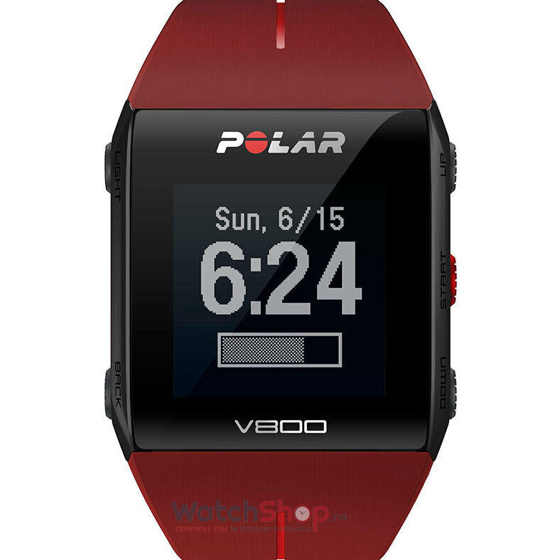 Ceas Polar TRAINING COMPUTER V800 RED 90060774 GPS de la Polar