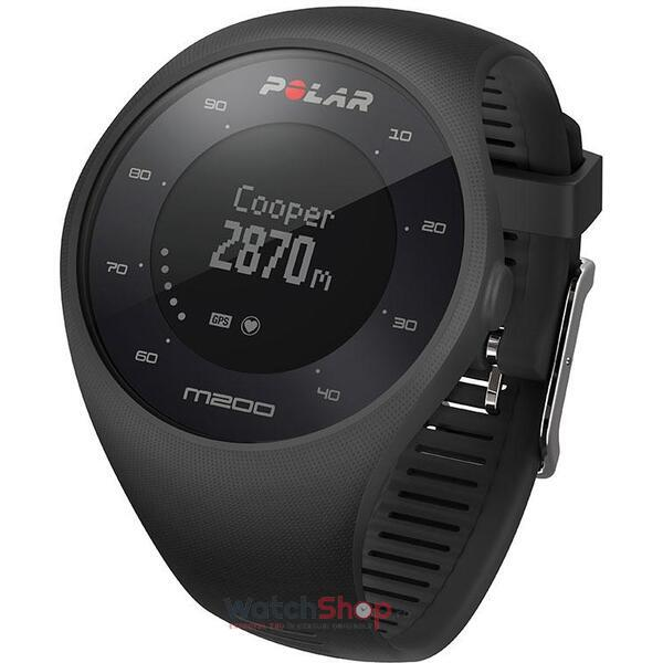 Ceas Polar TRAINING COMPUTER M200 BLACK 90061201
