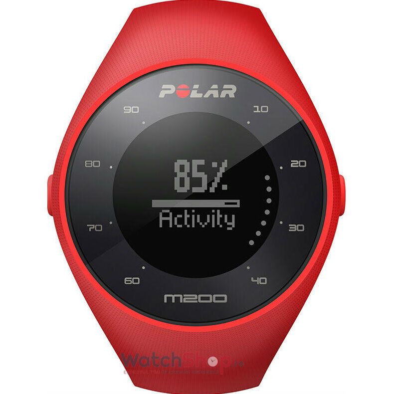Ceas Polar TRAINING COMPUTER M200 RED 90061217