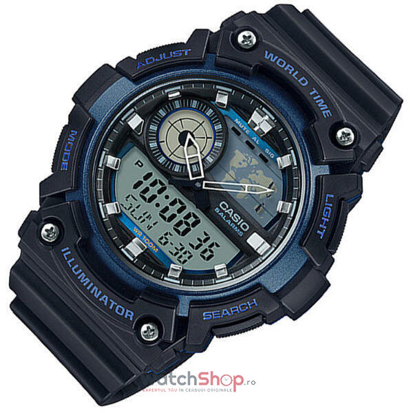 Ceas Casio SPORT AEQ-200W-2A World Time