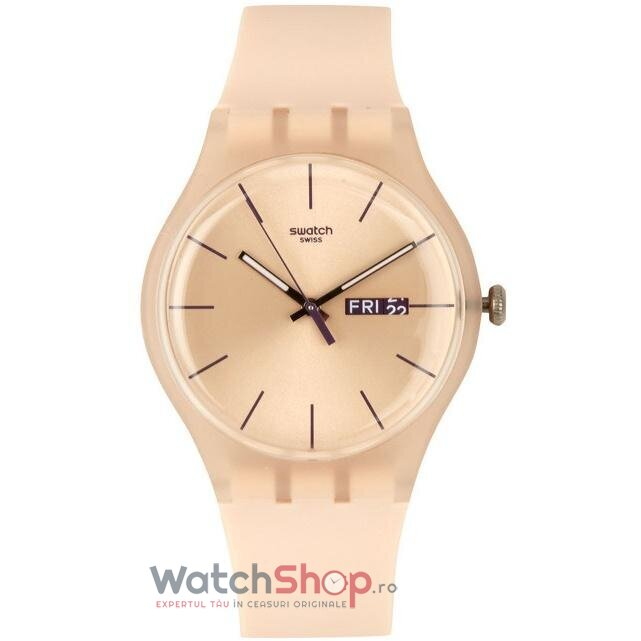 Ceas Swatch ORIGINALS SUOT700 Rose Rebel