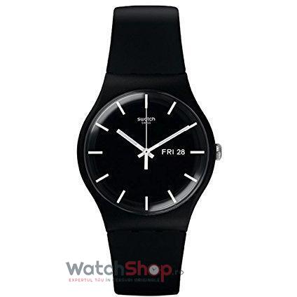 Ceas Swatch ORIGINALS SUOB720 Mono Black