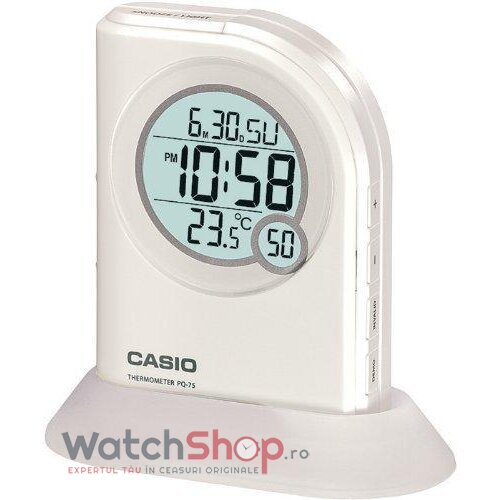 Ceas de birou Casio WAKE UP TIMER PQ-75-7DF