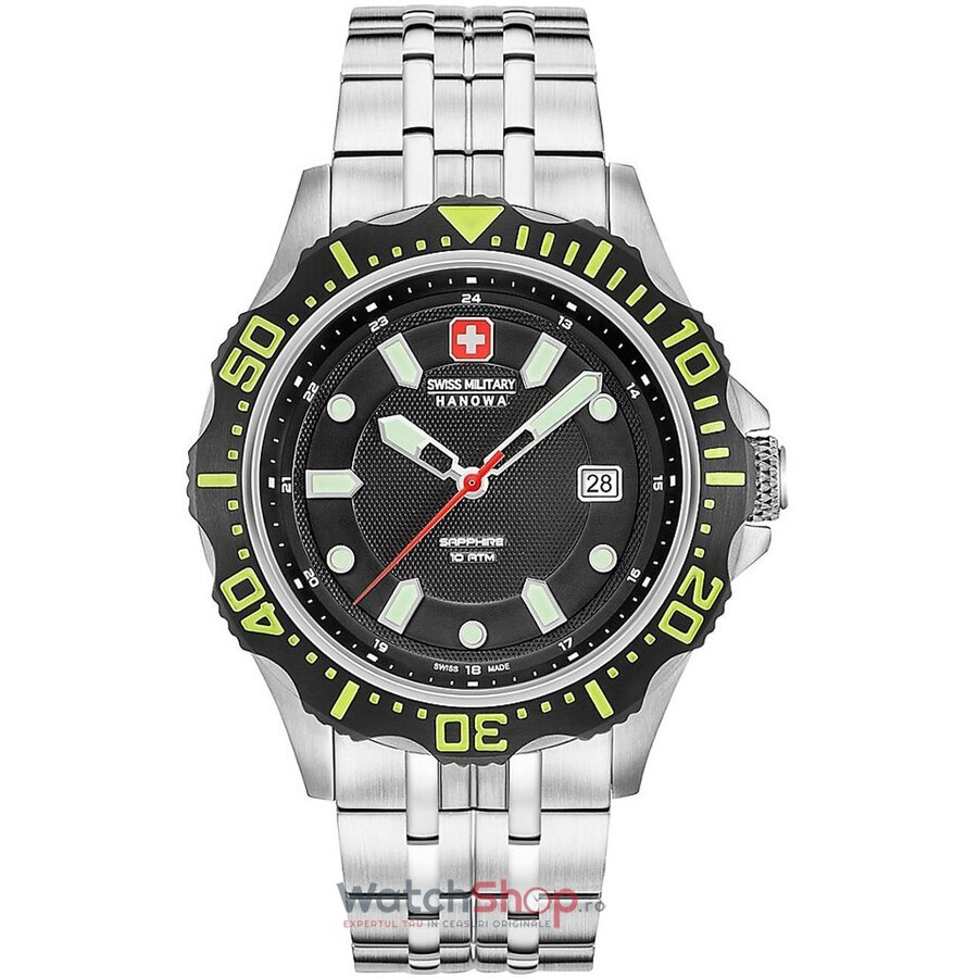 Ceas Swiss Military by HANOWA 06-5306.04.007.06 Patrol Herren de la Swiss Military