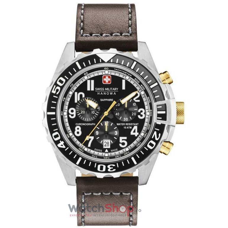 Ceas Swiss Military by HANOWA 06-4304.04.007.05 Touchdown Chrono de la Swiss Military