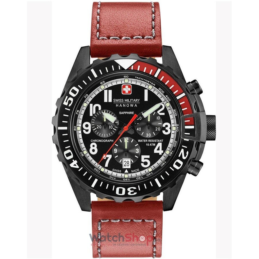 Ceas Swiss Military by HANOWA 06-4304.13.007 Touchdown Chrono de la Swiss Military