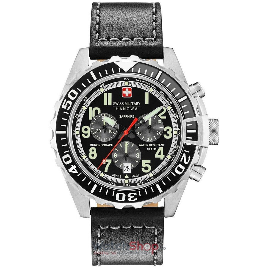 Ceas Swiss Military by HANOWA 06-4304.04.007.07 Touchdown Chrono de la Swiss Military