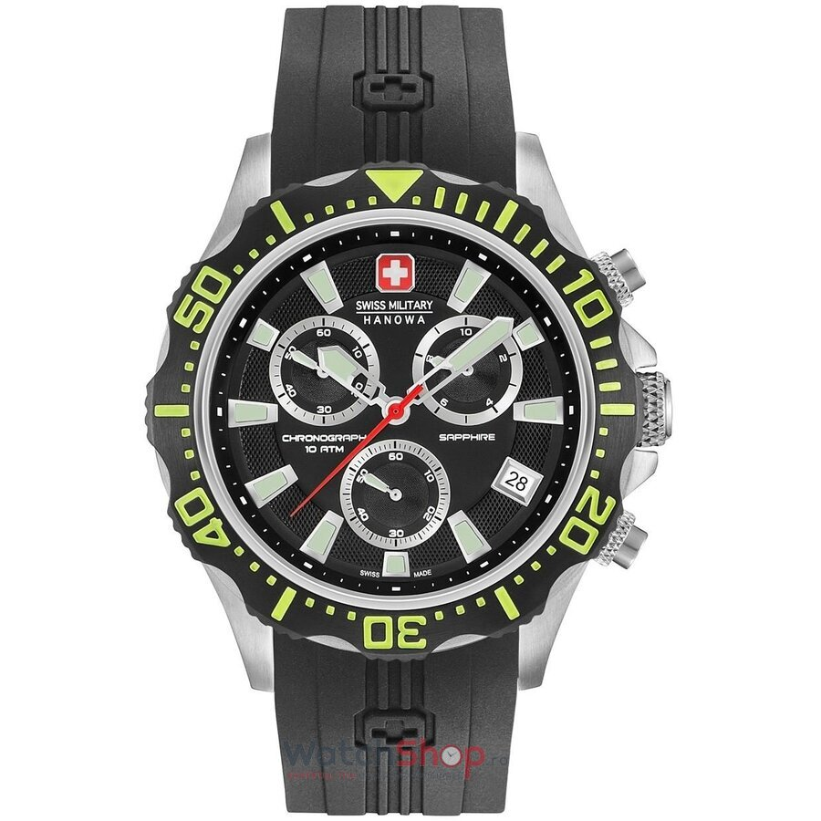 Ceas Swiss Military by HANOWA 06-4305.04.007.06 Patrol Chrono