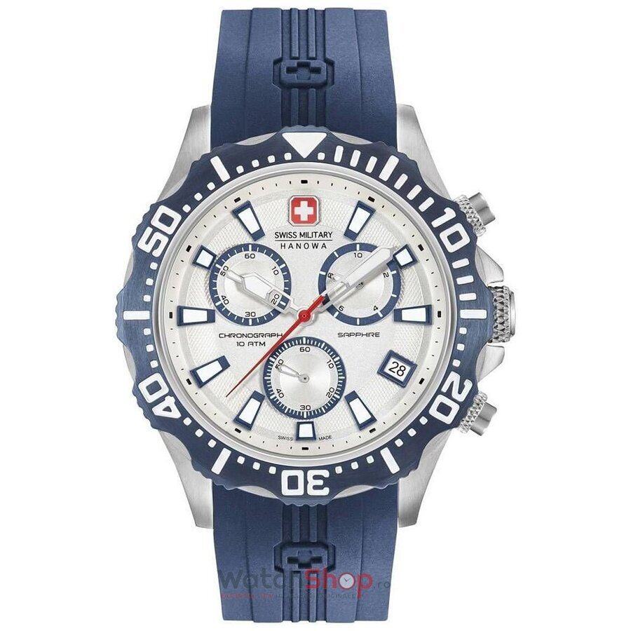 Ceas Swiss Military by HANOWA 06-4305.04.001.03 Patrol Chrono de la Swiss Military