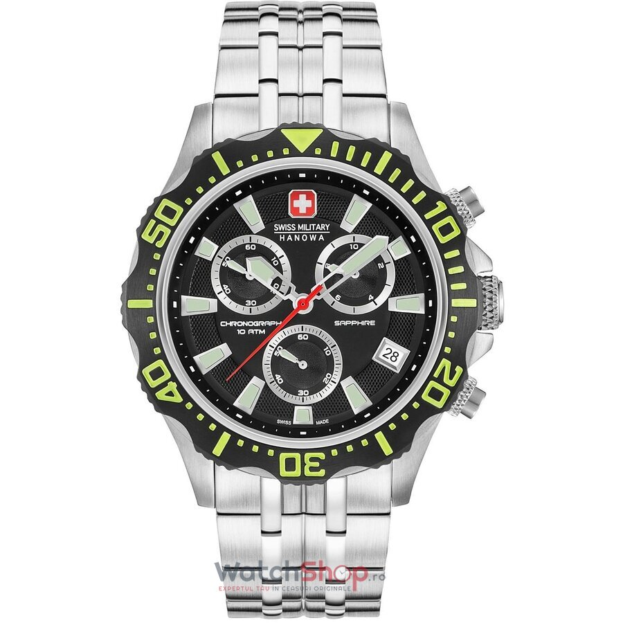 Ceas Swiss Military by HANOWA 06-5305.04.007.06 Patrol Chrono