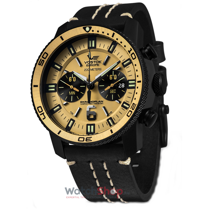 Ceas Vostok-Europe EKRANOPLAN 6S21/595H298 Grand Chrono
