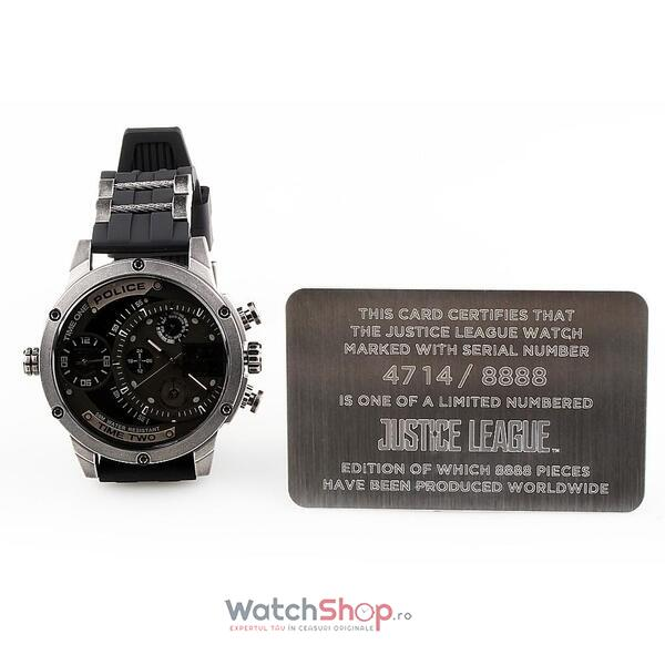 Ceas Police LIMITED EDITION JUSTICE LEAGUE ADDER PL.14536JQ/02P