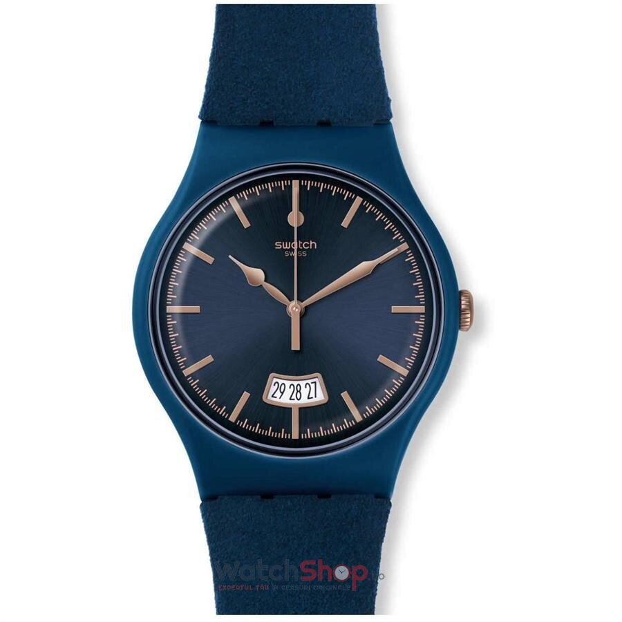 Ceas Swatch ORIGINALS SUON400 Cent Bleu de la Swatch