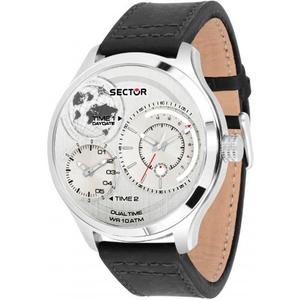 Ceas Sector TRAVELLER R3251504002 Dual Time