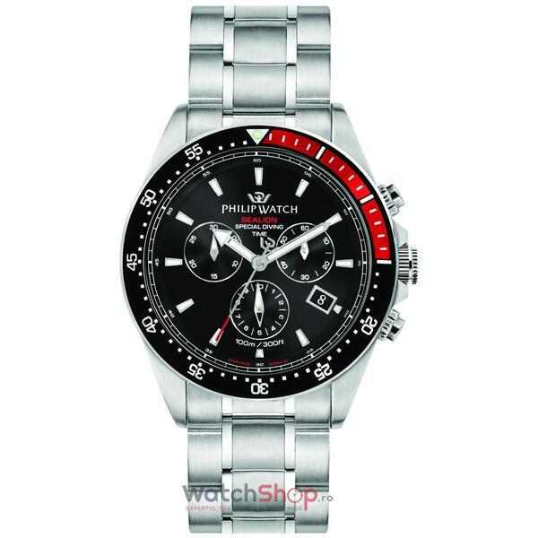 Ceas Philip Watch SEALION R8273609002 Cronograf