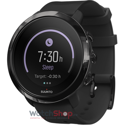 Ceas Suunto 3 Fitness All Black, negru