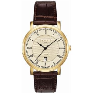 Ceas Roamer Mens C-Line Brown Leather Strap 709856 48 32 07