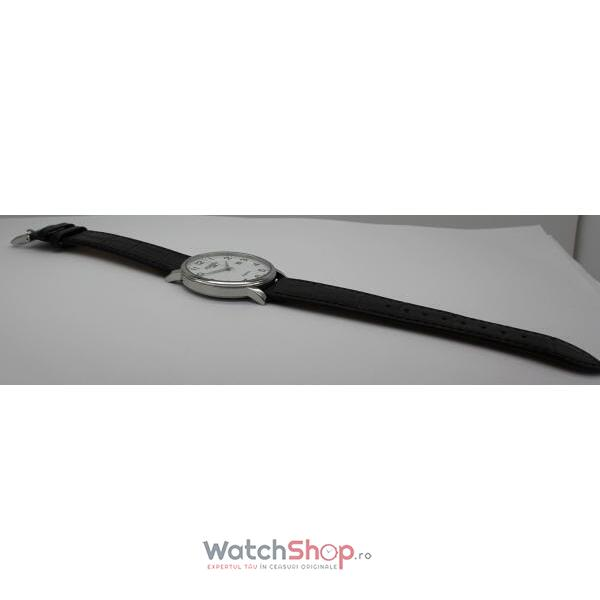 Ceas Roamer Mens C-Line Black Leather Strap 709856 41 26 07