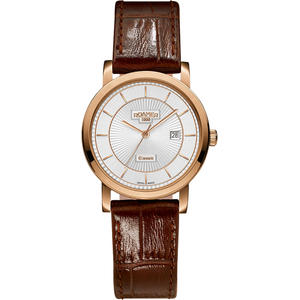 Ceas Roamer Ladies C-Line Brown Leather Strap 709844 49 17 07