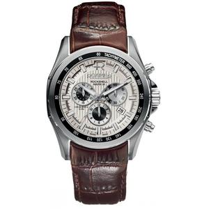 Ceas Roamer Rockshell Mark III Brown Leather Strap 220837 41 15 02