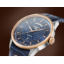 Ceas Roamer Superior Blue Leather Strap 508293 49 45 05