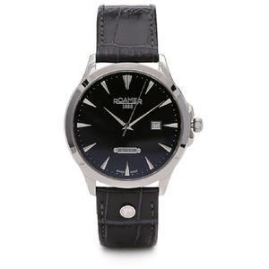 Ceas Roamer Windsor Black Leather Strap 705856 41 55 07
