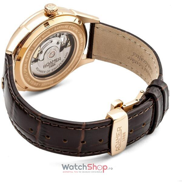 Ceas Roamer Matic Swinging Heart Brown Leather Srap 550661 49 42 05