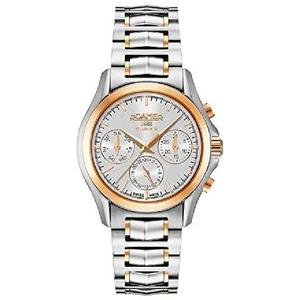 Ceas Roamer Searock Ladies Silver Rose Gold 203901 49 15 20