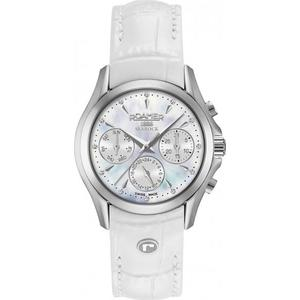 Ceas Roamer Searock Ladies White Leather Strap 203901 41 10 02