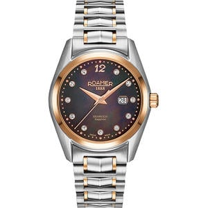Ceas Roamer Searock Ladies Silver Rose Gold 203844 49 59 20