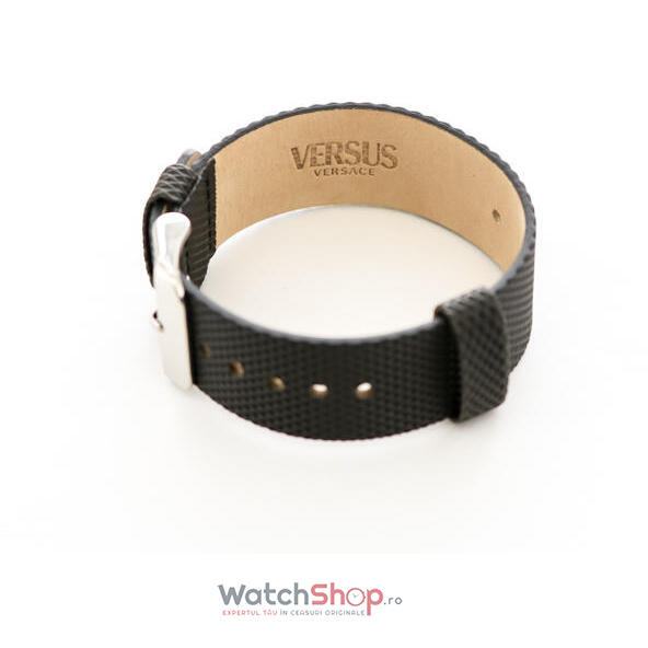 Curea (bratara) Versace VERSUS 22 mm BLACK