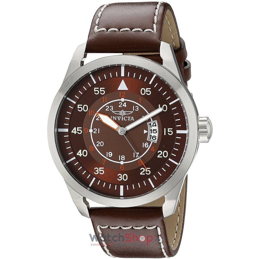 Ceas Invicta I-Force Brown Leather Strap 19259
