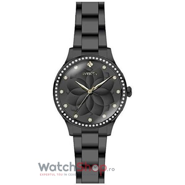 Ceas Invicta Wildflower Ladies Black 24538