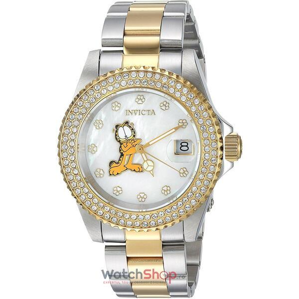 Ceas Invicta Character Ladies Silver Gold 24869