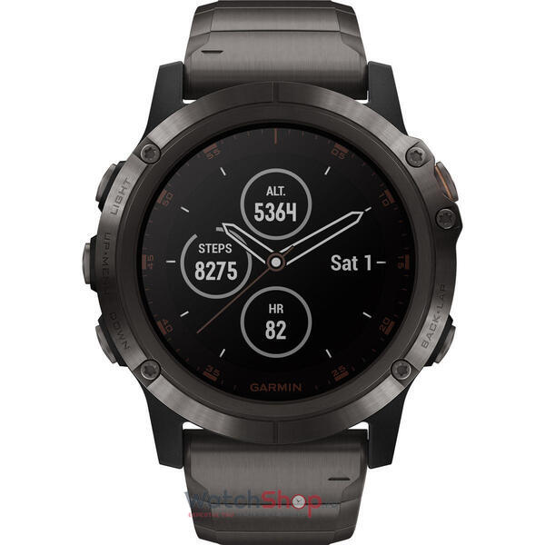 SmartWatch Garmin Fenix 5X Plus 010-01989-05 Set