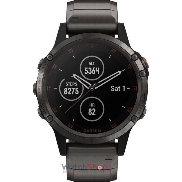 SmartWatch Garmin Fenix 5S Plus 010-01988-03 Set