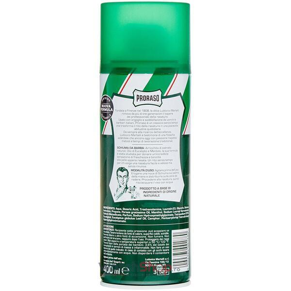 lotiune Proraso Green shaving foam 400 ml
