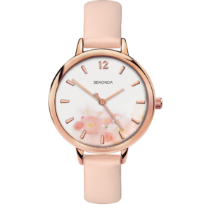 Ceas Sekonda Editions Women's Light Pink Strap 2624