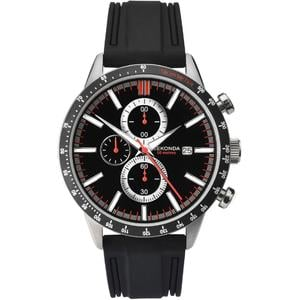 Ceas Sport Men's Black Strap Chronograph 1594