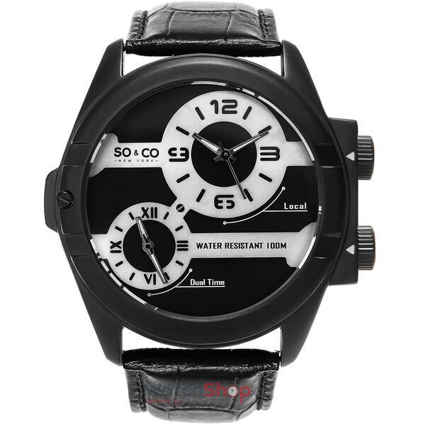 Ceas So&Co MONTICELLO GP15938 Dual Time