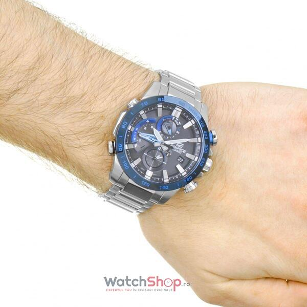 Ceas Casio Edifice EQB-800DB-1A Bluetooth Smart Solar