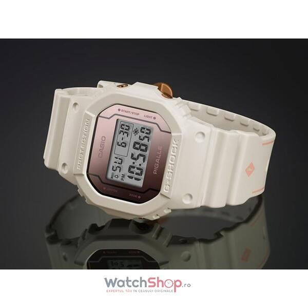 Ceas Casio G-Shock PIGALLE Limited Edition DW-5600PGW-7
