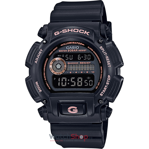 Ceas Casio G-Shock DW-9052GBX-1A4 Black and Rose Gold