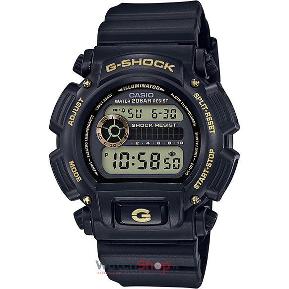 Ceas Casio G-Shock DW-9052GBX-1A9 Black and Gold