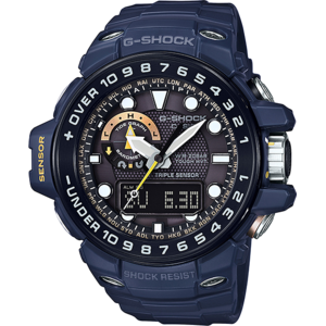 Ceas Casio G-Shock GWN-1000NV-2A Gulfmaster MultiBand 6 Solar Triple Sensor Version 3 Smart Access