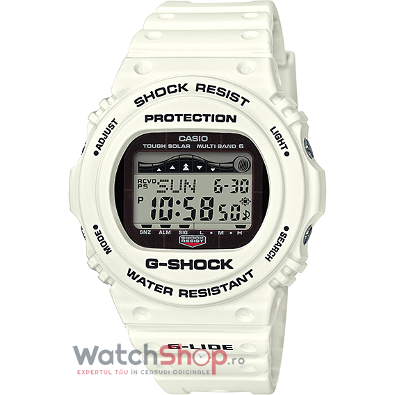 Ceas Casio G-Shock GWX-5700CS-7 G-Lide MultiBand 6 Tough Solar