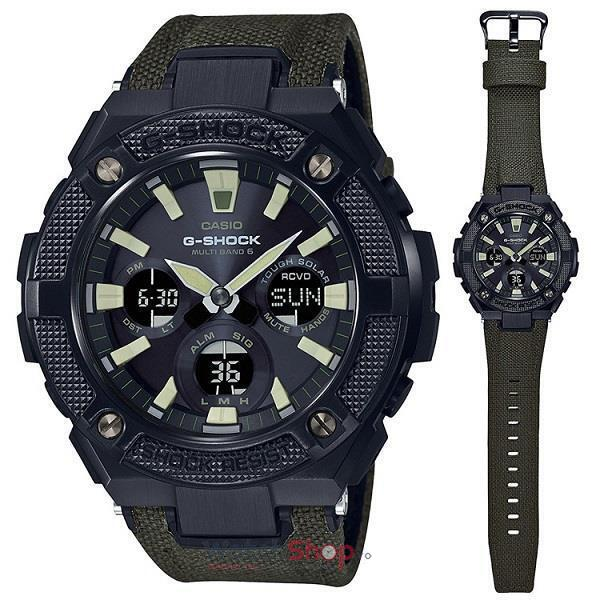 Ceas Casio G-Shock G-Steel GST-W130BC-1A3 Tough Solar