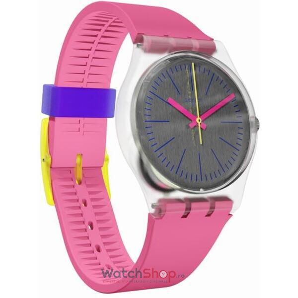 Ceas Swatch Fluo Pinky GE256