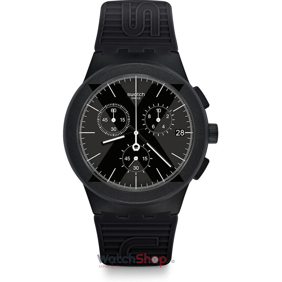 Ceas Swatch Chrono X-District Black SUSB413